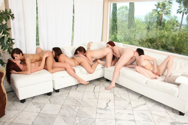 Veronica Radke, Raylene, Cici Rhodes, Melody Jordan, Presley Dawson, Shae Snow   The Seduction Of Raylene